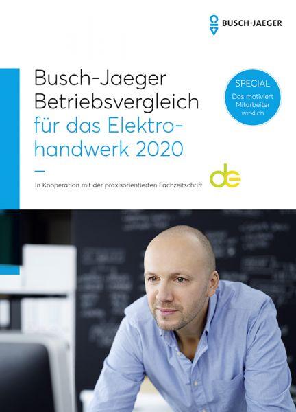 Busch-Jaeger, Heckner, Betriebsvergleich für das Elektrohandwerk 2020
